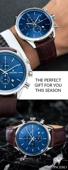 Vincero watches are the perfect mix of elegance, quality, and affordability. With Free Shipping WorldWide, it's tough to find reasons why you shouldn't�Shop Today!
