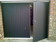 We have side hinged garage doors available Johannesburg - image 1 Grey Garage Doors, Side Hinged Garage Doors, Unique Garage Doors, Garage Door Colors, Garage Door Hinges, Garage Door Paint, Wooden Garage Doors, Garage Door Design, Modern Garage