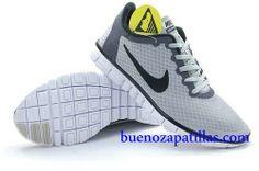 outlet store d3e31 66ed2 Mujer Nike Free 3.0 V2 Zapatillas (color   vamp - gris , en el interior y  logotipo - negro   sole - blanco)