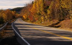 Autumn On Kancamagus Highway by Like Moore.