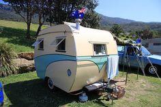 Vintage Aussie caravan
