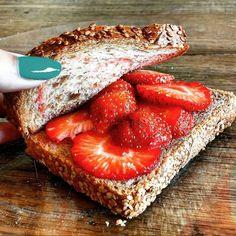 fresas sandwich