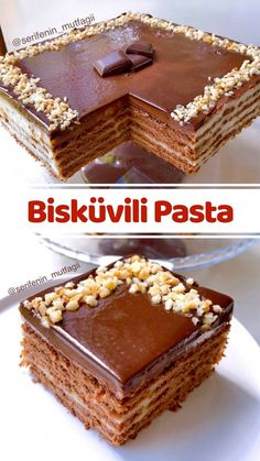 Pasta Cake, Turkish Sweets, Iftar, Turkish Recipes, Pinterest Recipes, Dessert Recipes, Desserts, Food Design, Diy Food