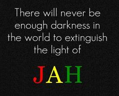 Rastafari. Jah bless.