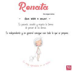 Renata #NombresDeBebé #RecomendaciónMIB