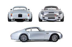 Aston Martin DB4 Zagato Studio Brochure Shots Richard Pardon Automotive Photographer