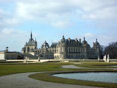 Fichier: Château de Chantilly garden.jpg