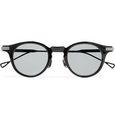 8f8d9a2ffc Native Sons - Orwell Round-Frame Acetate and Gunmetal-Tone Sunglasses