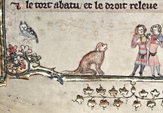 Друг человека Romance of Alexander, 1338-1344, France (Flemish), MS. Bodl. 264, fol. 147 v