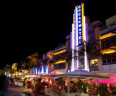 south beach - love the ambiance at South Beach and the Latin music & dances.