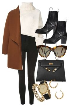 A fashion look from December 2017 featuring white shirts, brown coat and topshop jeans. Browse and shop related looks. Polyvore Outfits, Polyvore Casual, Fall Winter Outfits, Autumn Winter Fashion, Trendy Outfits, Fashion Outfits, Womens Fashion, Fashion Clothes, Fashion Tips