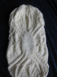 Ravelry: Cassia Winter Frost Papoose Sleepsack pattern by Kimberly Golynskiy