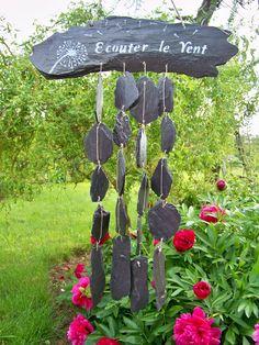 """Carillon de jardin """"écouter le vent"""""""