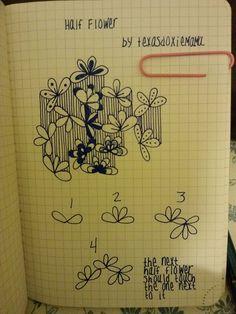 half flower tangle   Flickr - Photo Sharing!