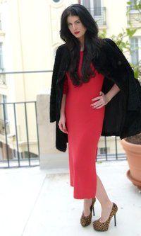 La Perla dress to shop on Marilicious!   http://www.marilicious.com/index.php/BLOG/2012/02/outfit-du-jour-red-y/