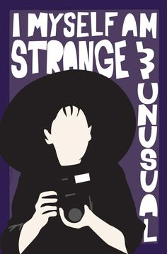 Strange and Unusual  12x18 Poster by MikeOncley on Etsy, $27.00