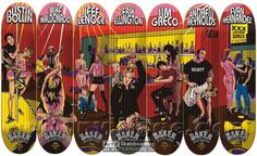 He's one of the artists who made 1990s skateboard graphics great, and he knows a thing or two about what makes a board image work. Check out Marc McKee's take on the best board images.
