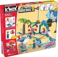 K'NEX New Super Mario Bros 2 Beach Building Set #38624