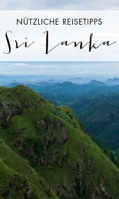 Sri Lanka ist ein tolles Reiseziel. Mit unseren Sri Lanka Reisetipps erfährst du alles, was du vor und während deines Urlaubs wissen musst.