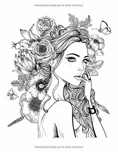 Fresh Coloring Pages For Women 44 Ree With