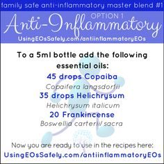 12 Best Anti Inflammatory Essential Oils Essential Oils For