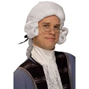 Men's Colonial Costume Wig