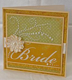 WaterDots: Bridal Shower Card