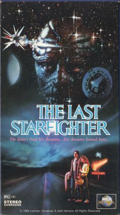 vhscoverjunkie:The Last Starfighter (1984)