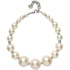 Mimco Flirtation Modern Pearl Choker ($205) ❤ liked on Polyvore