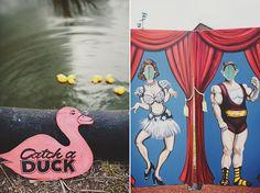 Carnival Prop Ideas   Found on polkadotbride.com