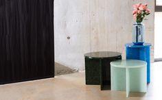 "Sebastian Herkner produces ""playful and brutalist"" collection for Pulpo"