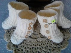 Crochet by Dugan's Girls {Wrap Boots}