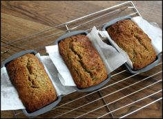 The quickest, easiest thermomix recipe for graine-free, paleo banana bread. Paleo Recipes, Low Carb Recipes, Real Food Recipes, Cooking Recipes, Baby Recipes, Free Recipes, Paleo Dessert, Pan Paleo, Filet Mignon Chorizo