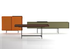 Piero Lissoni must never sleep. Here are his'Lochness' cabinets forCappellini.