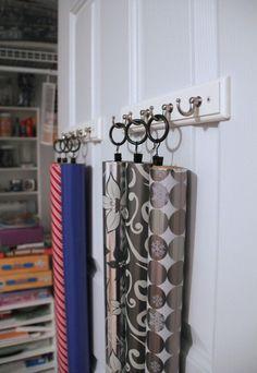 12 Smart Gift Wrap Storage Ideas