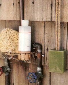 outdoor hand washing station (martha stewart)