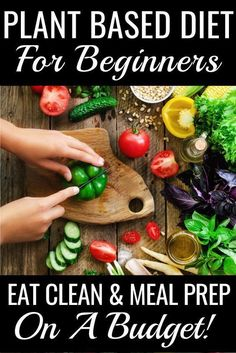 Plant Based Recipes for Beginners This easy, plant-based diet meal plan is perfe. Plant Based Recipes for Beginners This easy, plant-based diet meal plan is Plant Based Diet Meals, Plant Based Meal Planning, Plant Based Whole Foods, Plant Based Eating, Easy Plant Based Recipes, Plant Based Foods List, Plant Based Diet Plan, Plant Based Vegan Diet, Clean Recipes