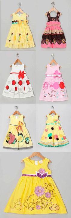 amazing little dresses for girl Little Dresses, Cute Dresses, Beautiful Dresses, Girls Dresses, 50s Dresses, Elegant Dresses, Baby Girl Fashion, Kids Fashion, Toddler Outfits