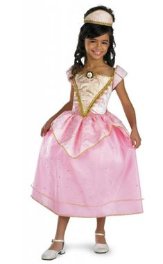 Barbie Princess Costume Barbie Royal Party Princess Child Costume Go To The Royal Party In This! Costume includes: Pink dress with gold detailing, attache Princess Costumes For Girls, Barbie Princess, Royal Princess, Princess Party, Sexy Adult Costumes, Fancy Costumes, Girl Costumes, Barbie Costumes, Costume Ideas