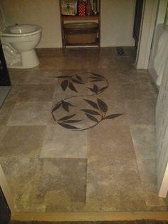 My version of the brown paper bag floor