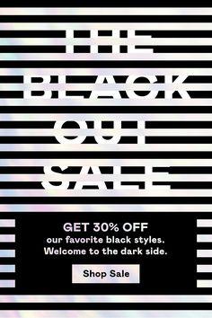 The Blackout Sale
