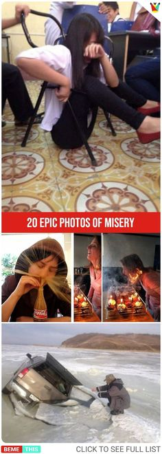 20 Epic Photos of Misery #epic #epicfail #badday #humor #funnypics #worstday #bemethis