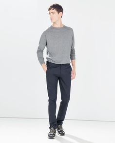 Image 1 of STRETCH TROUSERS from Zara