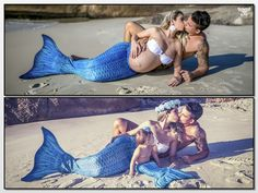 These Mermaid Maternity Photo Shoots Are Instagram Gold  - Cosmopolitan.com