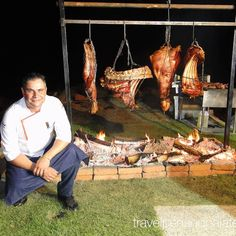 guest Dante Ferrero's (true nose-to-tail open-fire for In Born in Neuquen Chef Ferrero has lived in Monterrey for over a decade now w/ 4 Argentine Fire Grill, Argentine, Argentina Travel, A Decade, Outdoor Cooking, Grills, Restaurants, Mexico, Drink