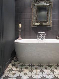retro kitchen tile backsplash exhaust vent cover merola kings star nero encaustic 17-5/8 in. x ...