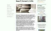 DCarsonCPA MFC The Lean Machine on Project and Process Advisory