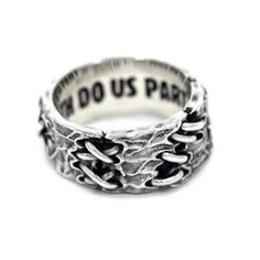 Wedding Ring For Him, Wedding Bands, Skull Engagement Ring, Gothic Rings, Feather Ring, Classic Monsters, Till Death, Couple Rings, Rings Cool
