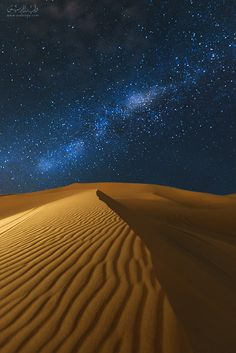 Desert at Night, Saudi Arabia