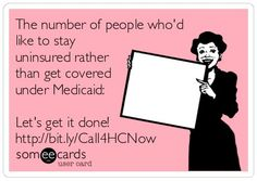 Pennsylvania Health Access Network's someecard. : )   PHAN is always looking for more people who want to be trained in order to help others sign up, especially during the Affordable Care Act's open enrollment period. You may want to check their web site for more info.
